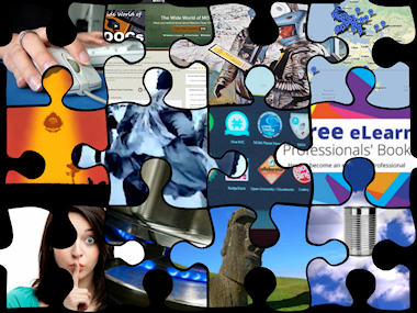 Collage of blog images