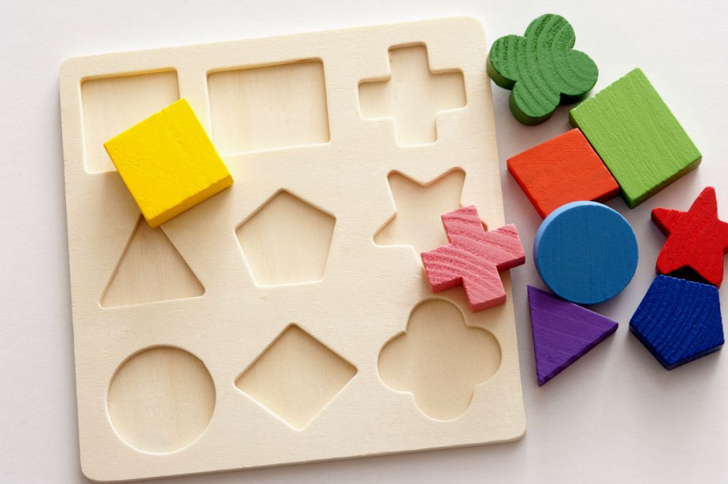 Children's shape puzzle.